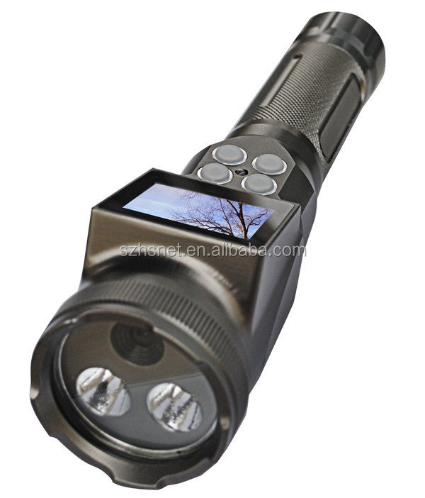 3.7v Led Blue Point Flashlight Rechargable