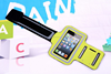 Non-toxic functional elastic hiking sports mobile phone arm pouch