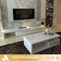 2017 Vermonhouse High Gloss TV cabinet Tv Stand Furniture