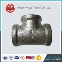 hardware galvanized malleable iron pipe fittings