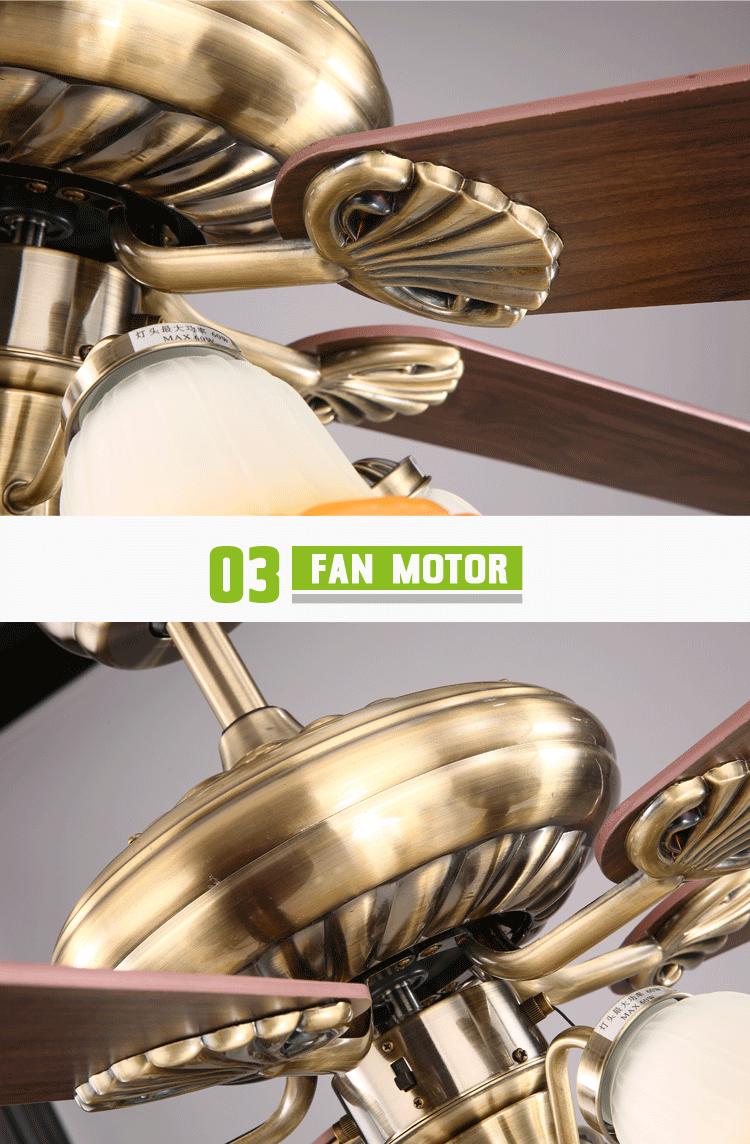 5 Lights Big Ceiling Fan Malaysia 110v/220v Copper Motor - Buy Big ...