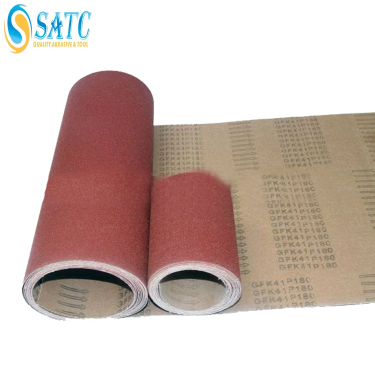 high quality SATC wet and dry abrasive paper roll