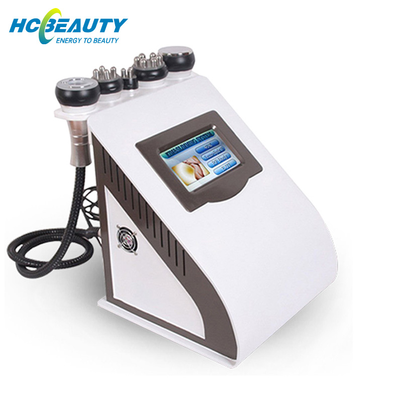 Cavitation portable mini cavitation + RF + cavitation de vide de la CE amincissant la machine