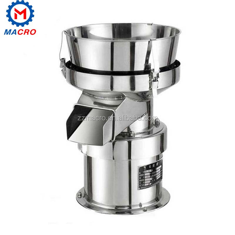 450mm Movable Mini Round Vibrating Screen For Ground Coffee