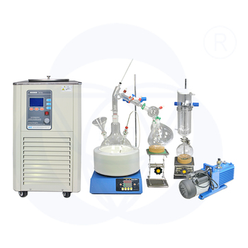 Biochemical instrument stock essential oil molecular distillation
