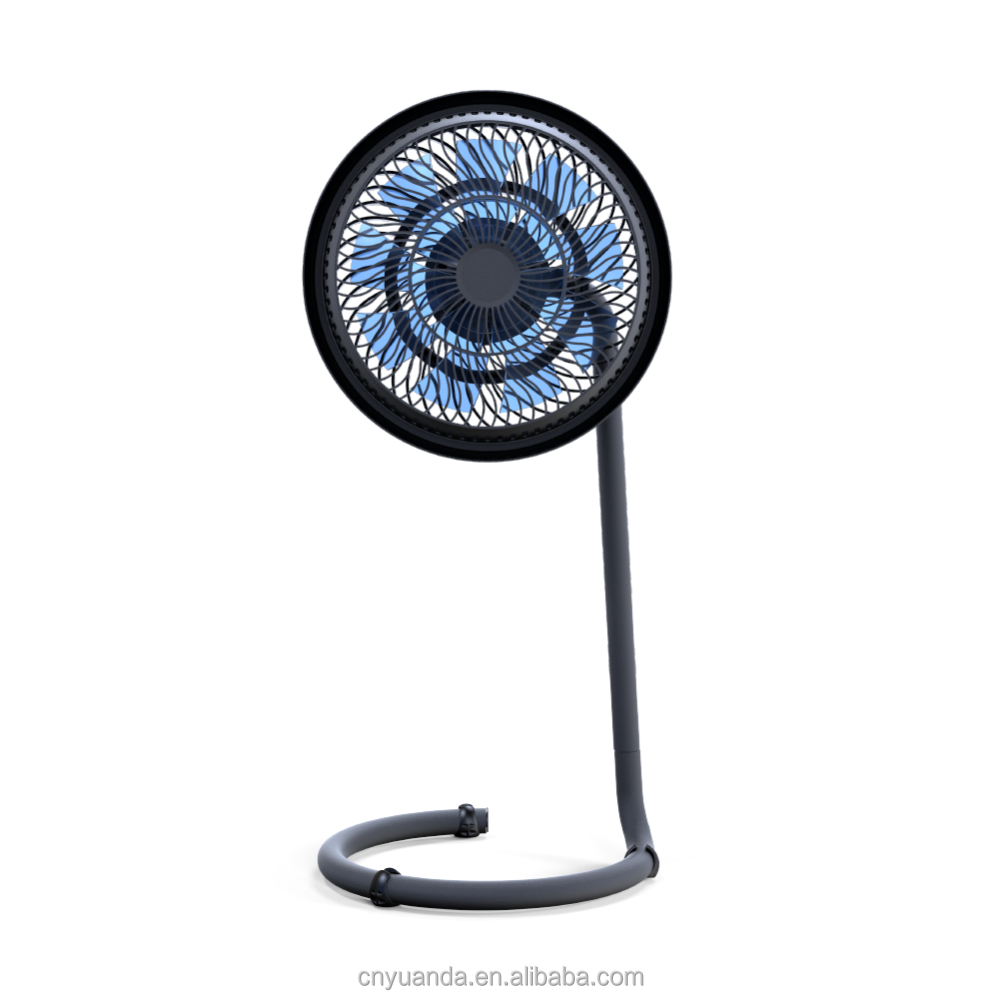 brushless adjustable height circulation circulation stand fan