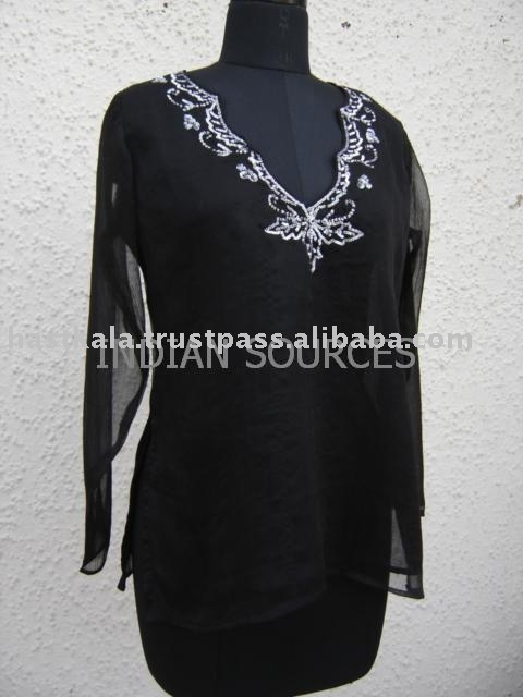 Chiffon Beaded Kurta for Promotion