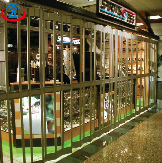 product-Transparency Over 80 Be 24th Window Display Clear Polycarbonate Folding Door-Zhongtai-img