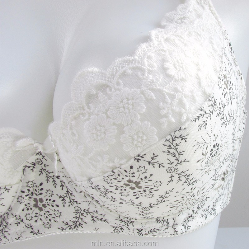 Pregnant Maternity Feeding Nursing Breastfeeding Bra Women Lace Floral Underwire interior bra nursing