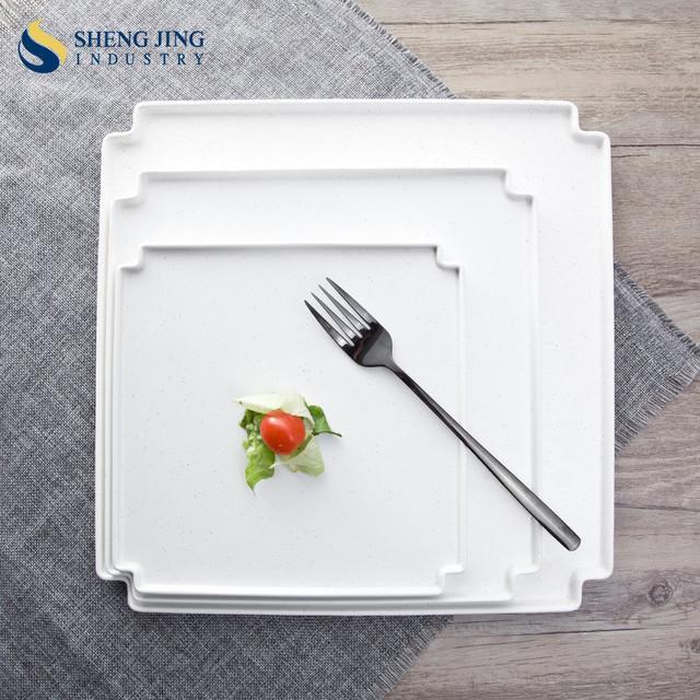 High Grade Newest Designs Cheap White Colored Square Plates & China Square Plate Color Wholesale 🇨🇳 - Alibaba