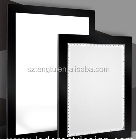 Led Backlight Box / Led Backlight Board For Subway Poster