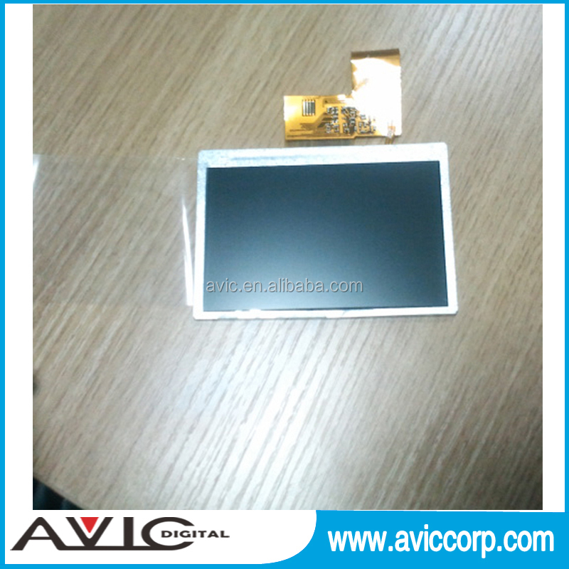 A4 Card Portrait 8 Gb 7 Inch Video Brochure With Lcd Module And ...
