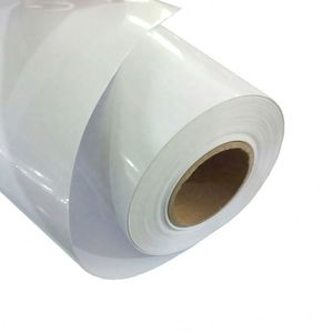 vinyl sticker materials for car and bus sheet roll self adhesive PVC media outdoor solvent ink printing