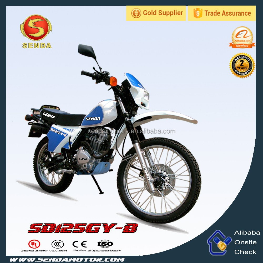 Max Speed 125cc Dirt Bike Motorcycle with EEC /Sport Bike for Sale HyperBiz SD125GY-B