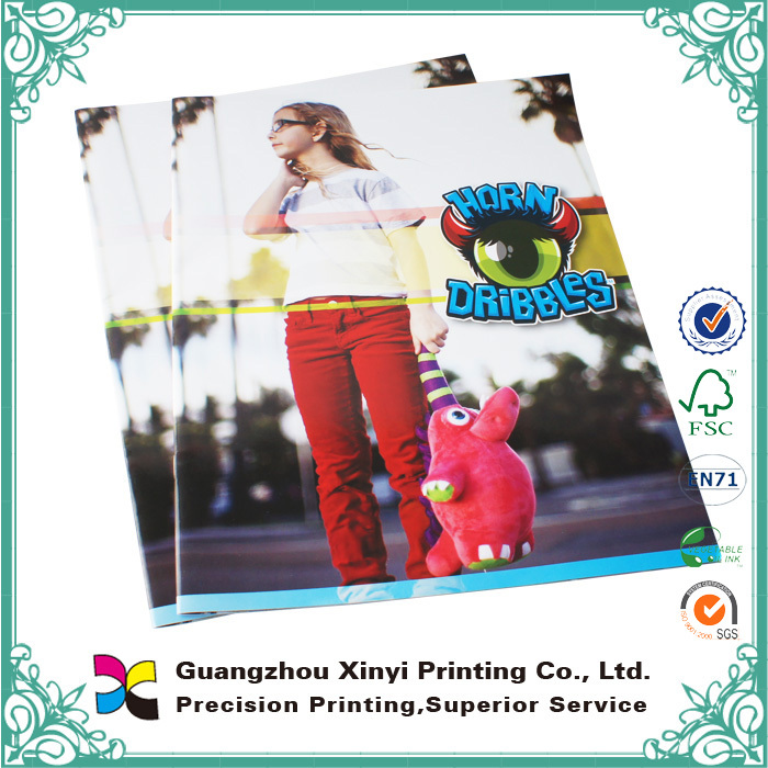 Best factory professional saddle stitching art paper high quality magazines