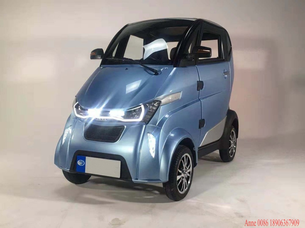 EEC L6e Brand New Cars 4 Wheel  Electric Cabin Car Vehicles Lithium Battery  Mini Car COC