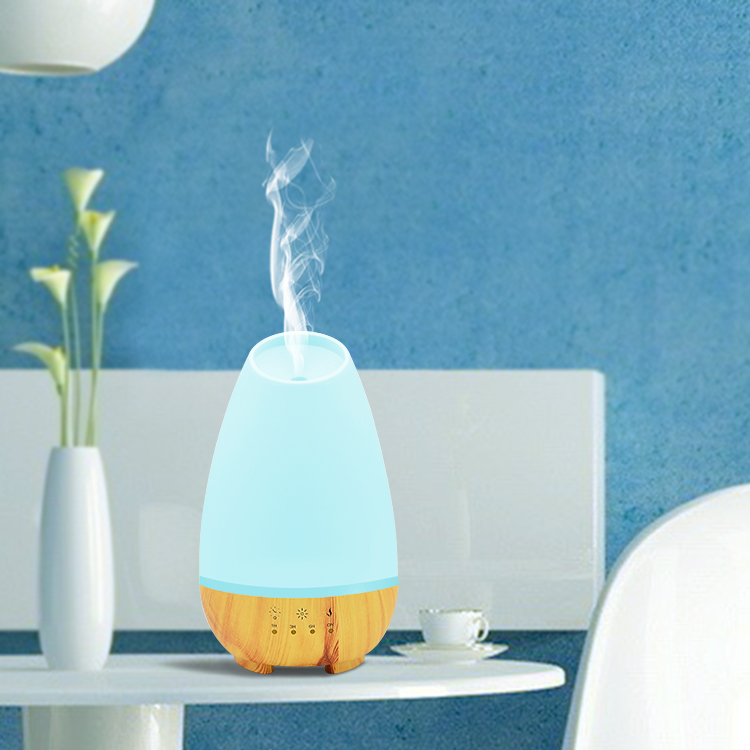 2.4 mhz ultrasonic industrial aroma diffuser 500ml portable air humidifier with colorful led light