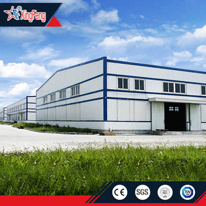 sandwich wall workshop/prefabricated steel warehouse/steel structure workshop