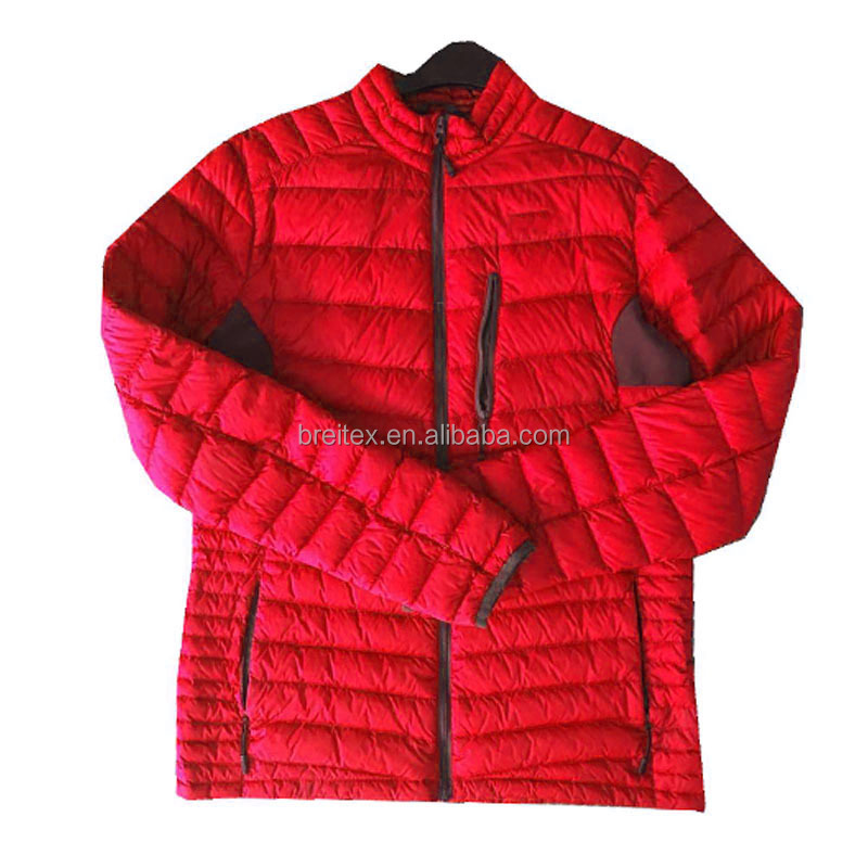 new arrival Wholesale nylon 90% down 10% feather men winter duck down jacket