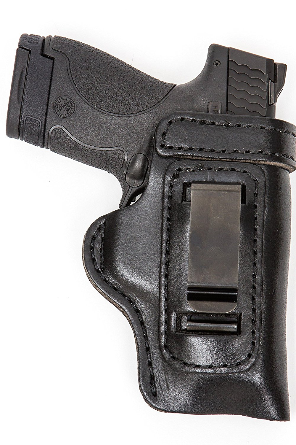The Holster Store: Leather Gun Holster For Taurus 709 740 IWB Inside The Waistband RH Right Hand or LH Left Hand Black or Brown HD