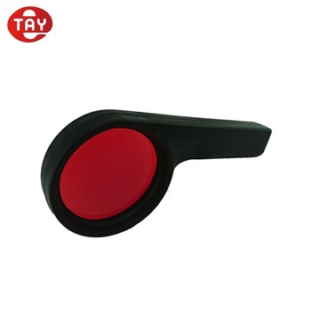 Magic plastic 3D red color lens decoder for secret code reveal reading glass