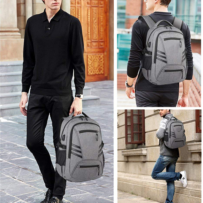Anti-Theft Backpack Water Resistant Travel Laptop Bag Laptop Backpack with USB Port Charger