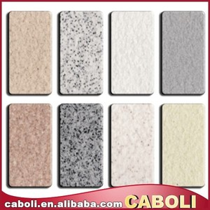 exterior wall real stone texture effect spray paint factory
