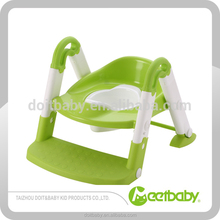 New design of plastic baby assistant potty with step