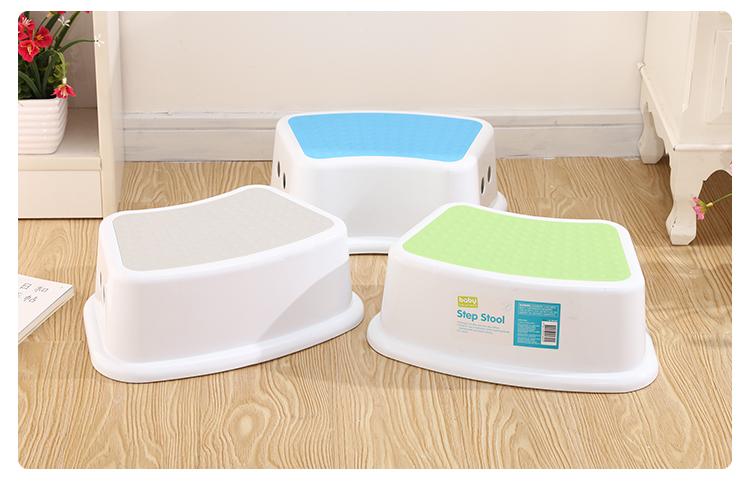 Multifunzione in plastica per bambini sgabello passo bambino bagno