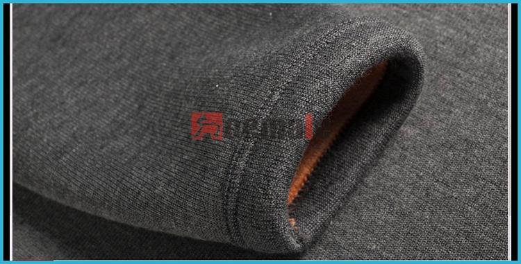 Winter Polartec Fabric Men Heated Thermal Underwear Knee Support ...
