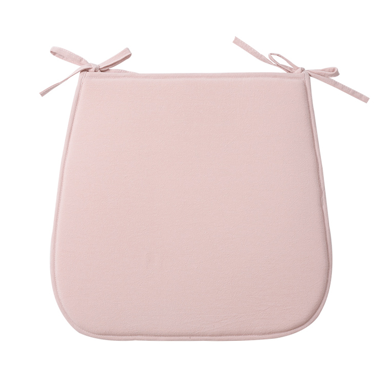 2018 Plain style 5 pure colors chair pad household U-shape disposable custom cushion