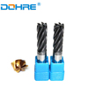 Black Or Bronze Coated 6 Flutes ALTIN End Mill Cutters From Germany