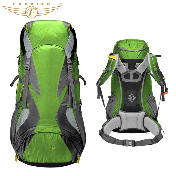 OEM Camping Hiking Backpack China With Waterproof Cover