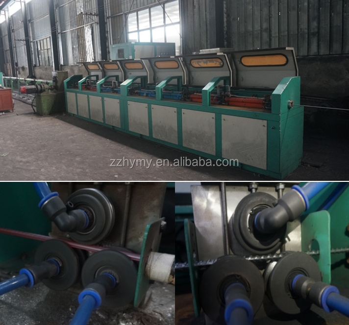 High Technology Cold Rolled Ribbed Bar Making Machine With Induction Heater 0086 15617575581