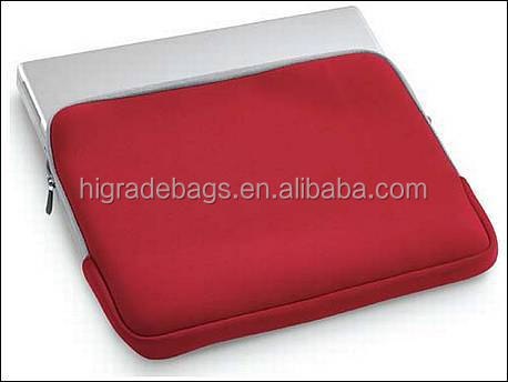 waterproof neoprene custom print laptop sleeve