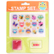 INTERWELL CMY112 Chinese Personalised TPR Stamp Set For Kids