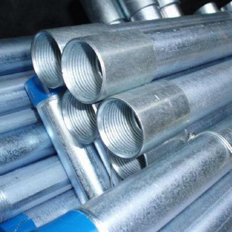 Din 2448 fisuras galvanizado en caliente de tubos de acero for Casetas de acero galvanizado