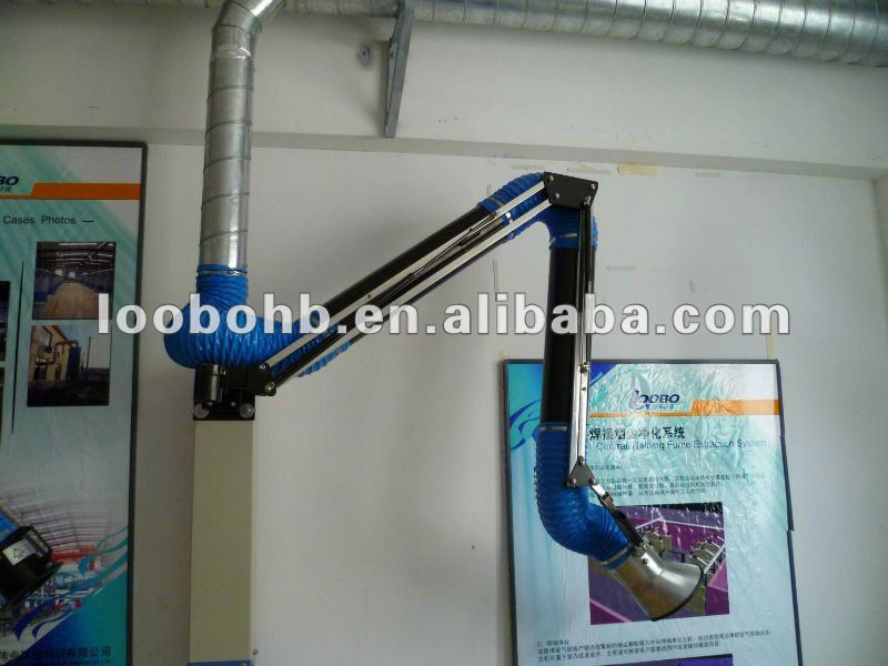 Wall Mount Welding Fume Extractor : Loobo manufacture fume extraction arms welding sucking