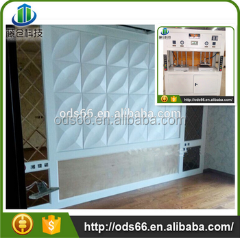 Architectural Wall Panel Machine For 3d Board Wall Decorations ...