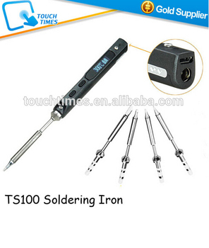 2016 New Upgraded Ts100 Digital Display Mini Electric Soldering Iron  Programmable - Buy Soldering Irons Soldering,Electric Soldering Iron,Mini