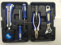 small hand tool set with tool box