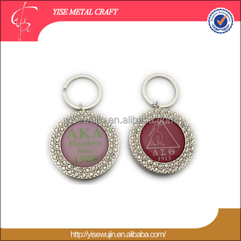 Bling Bag Hanger Souvenir Magnets Round Magnetic Purse Key Holder Custom Logo Handbag Hook With