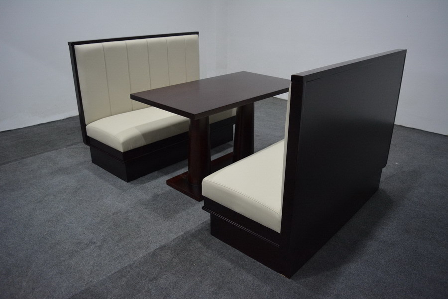 American Fast Food Booth Modern Furniture Restaurant