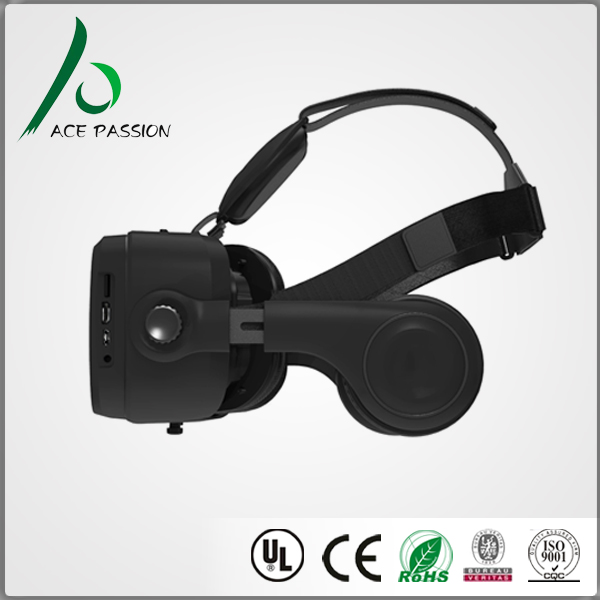 2017 New Arrival 3d All In One Vr Headset Vr All In One vr box glasses