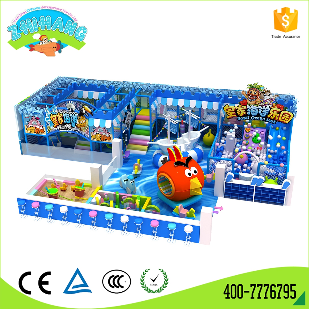 Hot funny indoor play equipment amusement park playground for children
