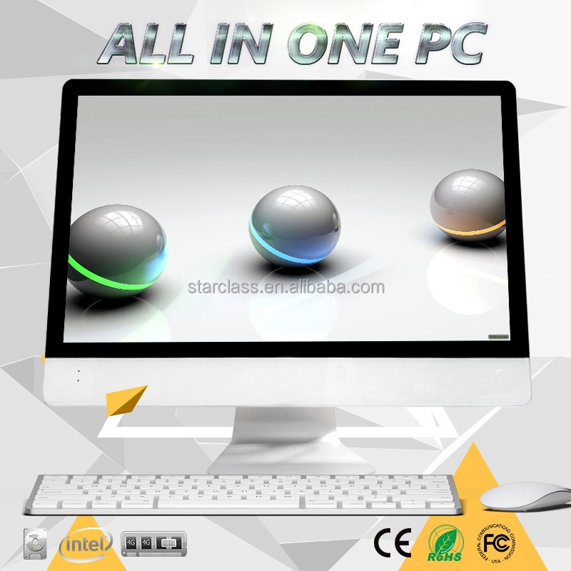 21.5 inch desktop all-in-one PC with TV function 64G dual core Android4.2 VIA WM8880