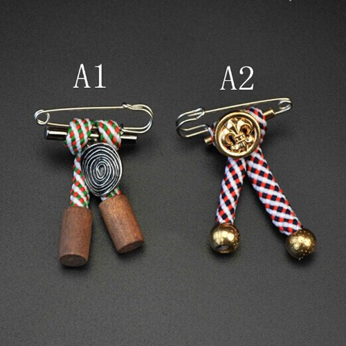 Fashion latest men's brooch pins for suits (HP-077)