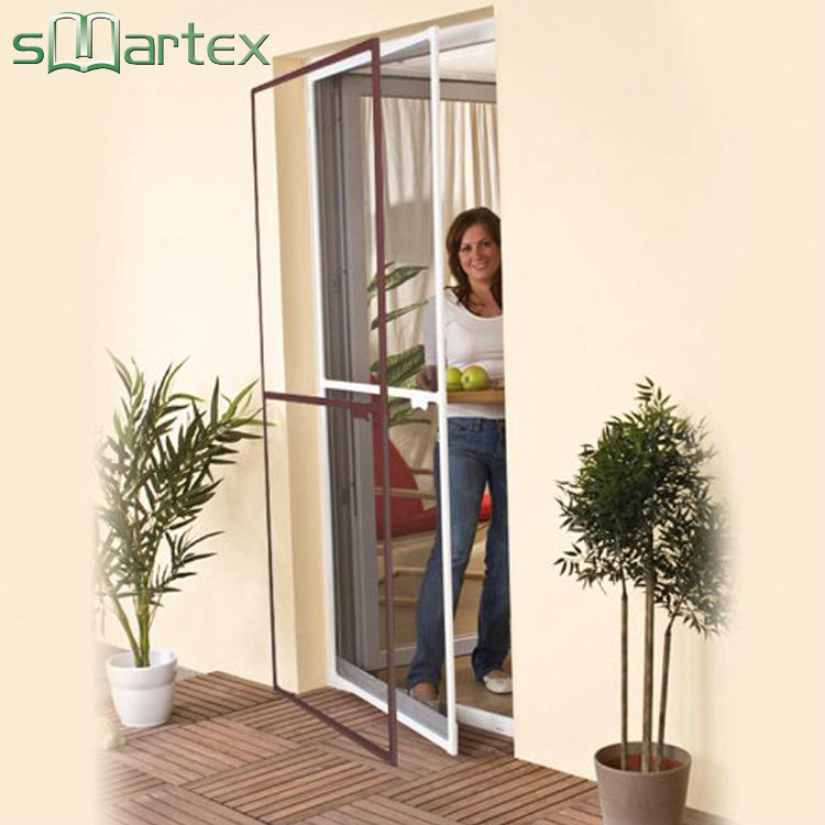 Excellent double glazing insulated insect adjustable screen door for promotion