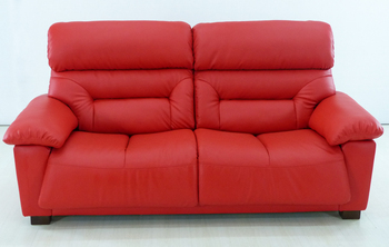 Wooden Red Charming Chestfield Leather Sofa Set Prices In Pakistan
