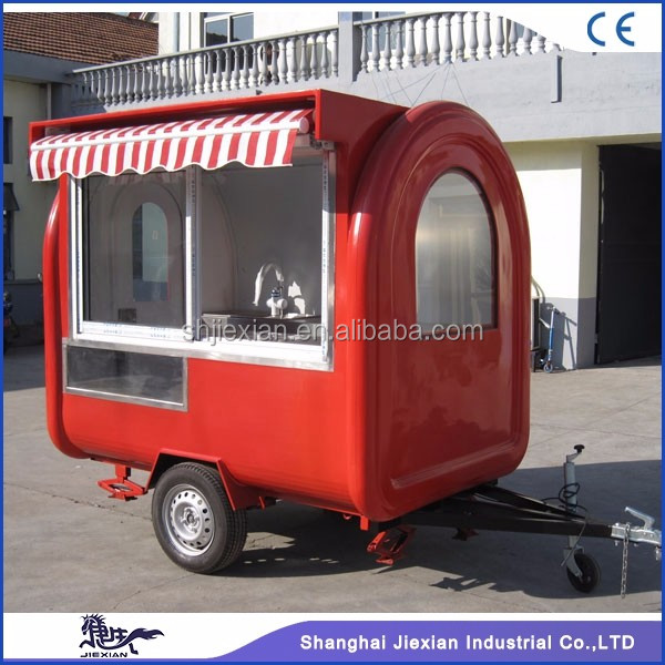 JX-FR220H Food trolley cart price/food trucks mobile food carts for sale